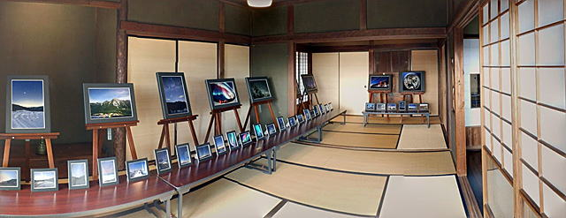 横浜スピンオフ編 旧柳下邸 展示の様子