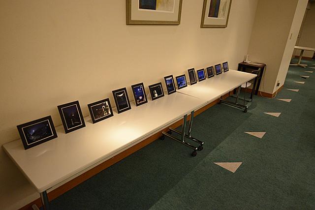横浜みなとみらいホール 小ホール バンケットルームの展示