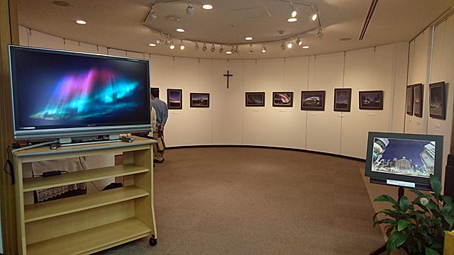 2016年6月の銀座教会での展示の様子