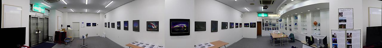 三鷹編 天文・科学情報スペース 展示の様子